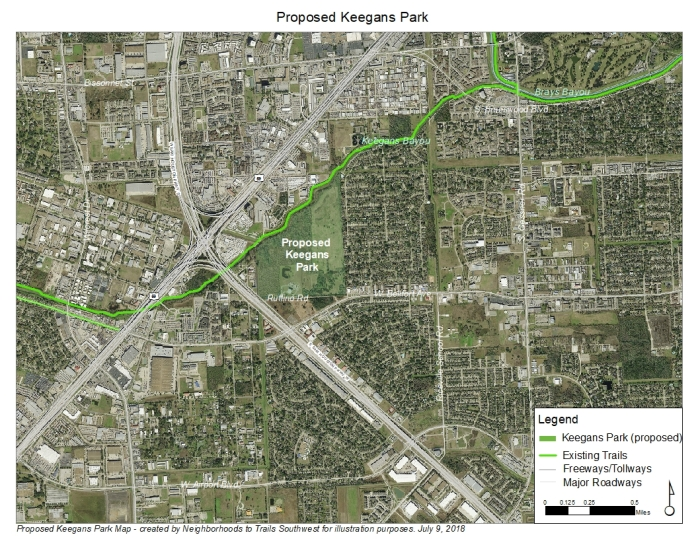 Keegans Park Base Map